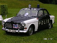 Autentisk Volvo Amazon Polisbil